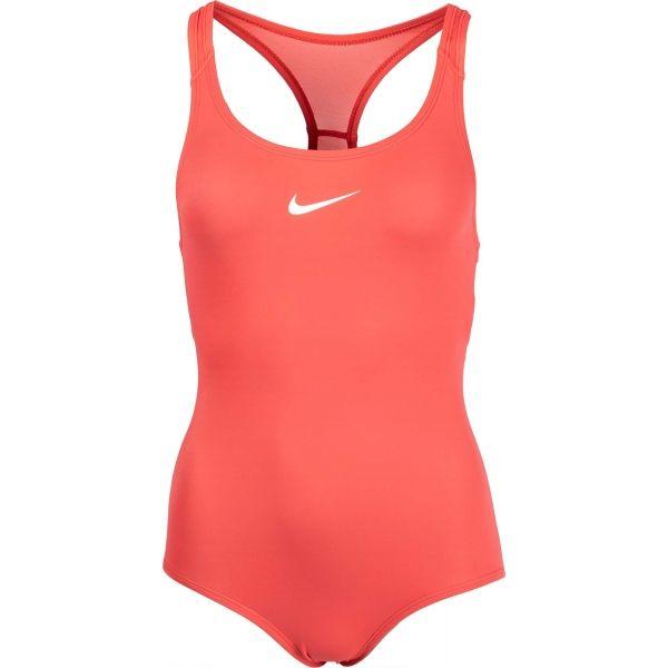 Nike SOLID narancssárga XL - Lányos úszódressz