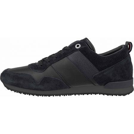 Pánska voľnočasová obuv - Tommy Hilfiger ICONIC LEATHER SUEDE MIX RUNNER - 4