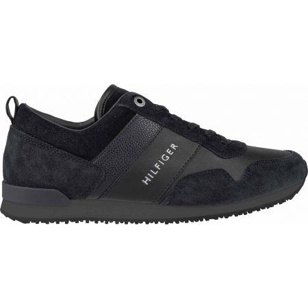 Pánska voľnočasová obuv - Tommy Hilfiger ICONIC LEATHER SUEDE MIX RUNNER - 3