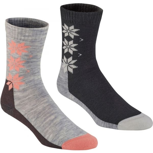 KARI TRAA KT WOOL SOCK 2PK modrá 39-41 - Vlněné ponožky