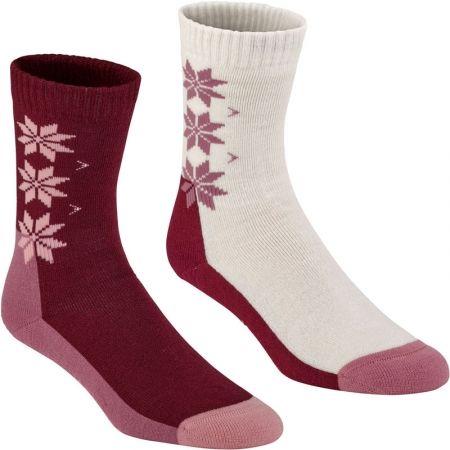 Vlněné ponožky - KARI TRAA KT WOOL SOCK 2PK - 1