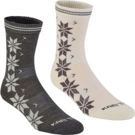 KARI TRAA VINST WOOL SOCK 2PK - Dámske ponožky