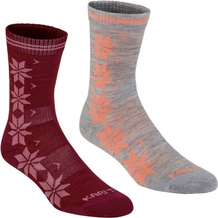 Dámské ponožky - KARI TRAA VINST WOOL SOCK 2PK - 1