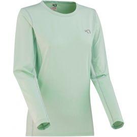 KARI TRAA NORA LS - Tricou de alergare damă cu mâneci lungi