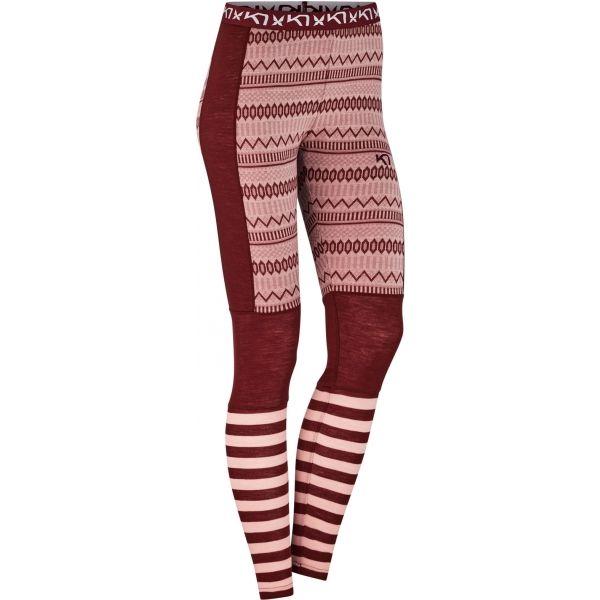 KARI TRAA AKLE PANT borszínű M - Női legging
