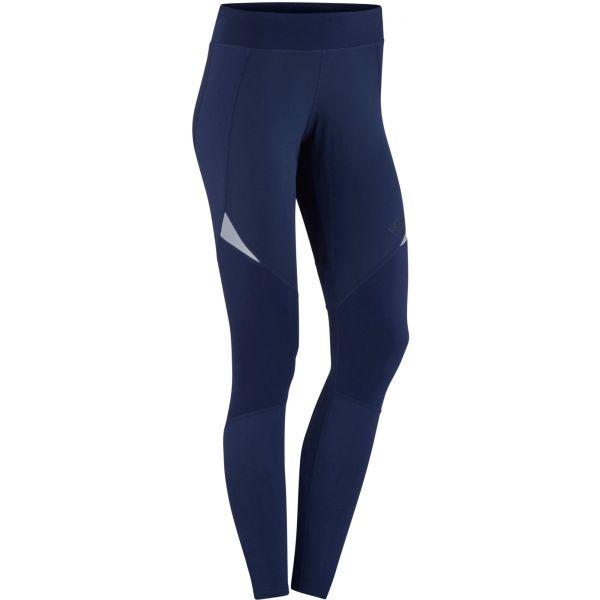 KARI TRAA SIGNE TIGHTS modrá L - Dámske športové nohavice