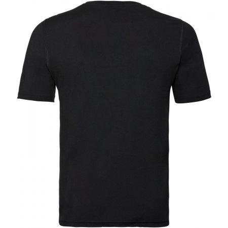 Pánske funkčné tričko - Odlo BL TOP CREV NECK S/S NATURAL 100% MERINO - 2