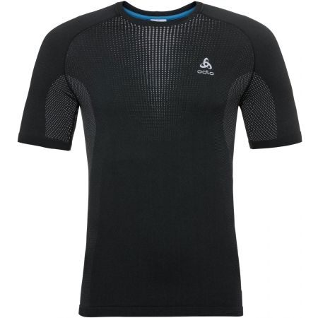 Odlo BL TOP CREW NECK S/S PERFORMANCE WARM - Men's T-shirt