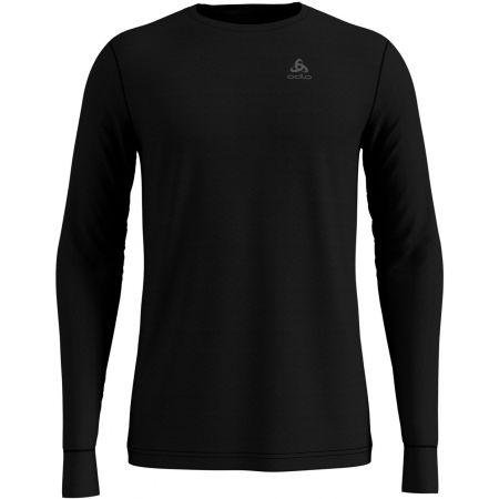 Odlo SUW TOP CREW NECK L/S NATURAL 100% MERINO - Pánske tričko s dlhým rukávom