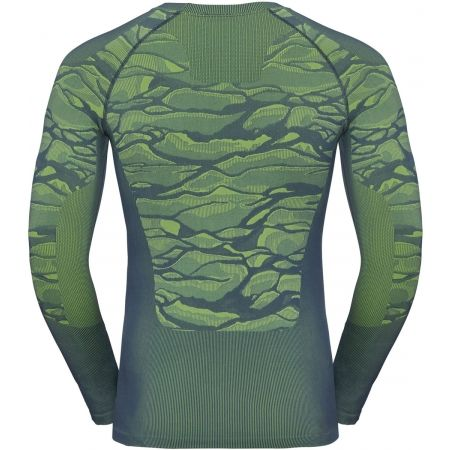 Pánske tričko - Odlo BL TOP CREW NECK L/S BLACKCOMB - 2