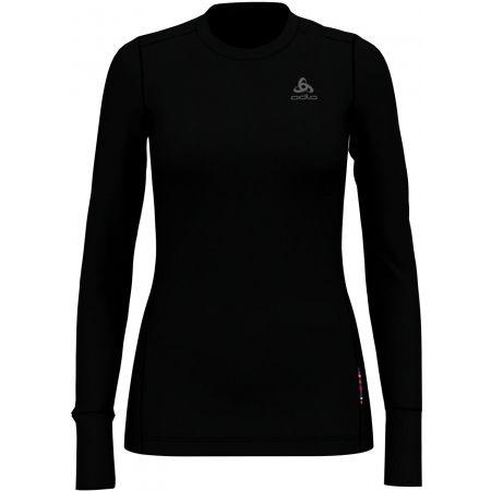 Odlo SUW TOP CREW NECK L/S NATURAL 100% MERINO - Tricou damă cu mâneci lungi