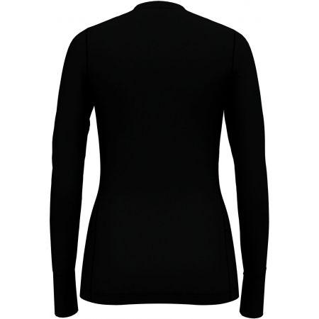 Dámské tričko s dlouhým rukávem - Odlo SUW TOP CREW NECK L/S NATURAL 100% MERINO - 2