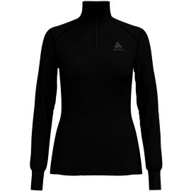 Odlo BL TOP TURTLE NECK L/S HALF ZIP ACTIVE W - Tricou de damă