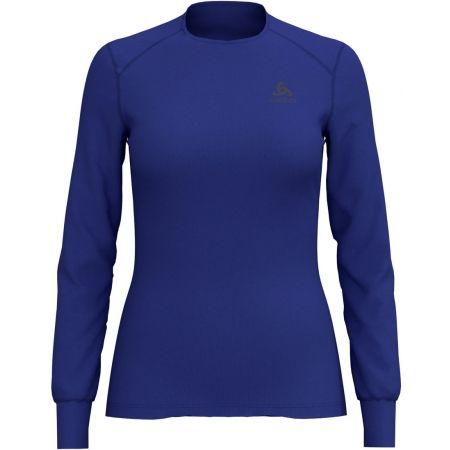Дамска тениска - Odlo BL TOP CREW NECK L/S ACTIVE WARM