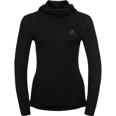 Odlo BL TOP WITH FACEMASK L/S ACTIVE WARM - Women's T-shirt with a hood