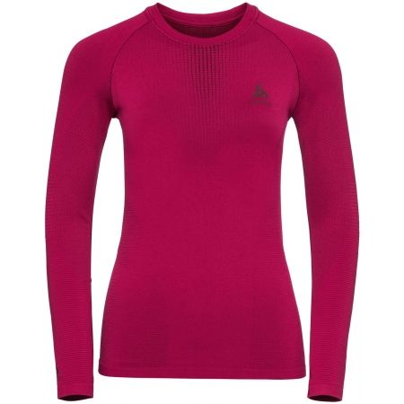 Odlo BL TOP CREW NECK L/S PERFORMANCE WARM - Tricou de damă