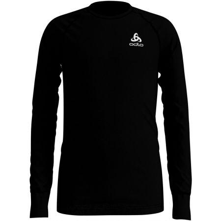 Detské tričko s dlhým rukávom - Odlo BL TOP CREW NECK L/S ACTIVE WARM KIDS
