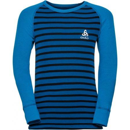 Odlo SUW KIDS TOP L/S CREW NECK ACTIVE WARM - Dětské tričko s dlouhým rukávem