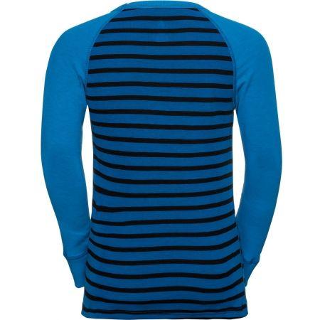 Detské tričko s dlhým rukávom - Odlo BL TOP CREW NECK L/S ACTIVE WARM KIDS - 2