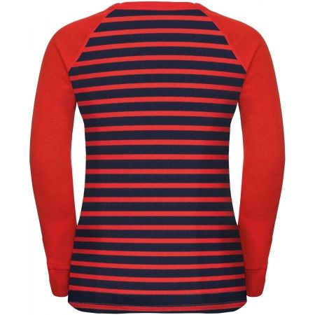Koszulka z długim rękawem dziecięca - Odlo BL TOP CREW NECK L/S ACTIVE WARM KIDS - 2