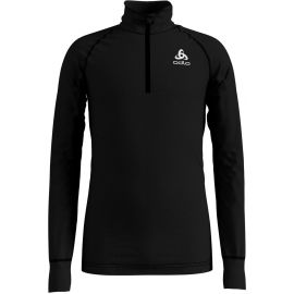 Odlo BL TOP TURTLE NECK L/S HALF ZIP ACTIVE WARM - Tricou de copii