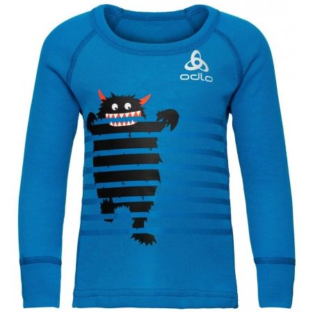Odlo BL TOP CREW NECK L/S ACTIVE WARM TREND K - Children's T-shirt