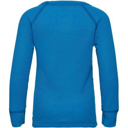 Detské tričko - Odlo BL TOP CREW NECK L/S ACTIVE WARM TREND K - 2