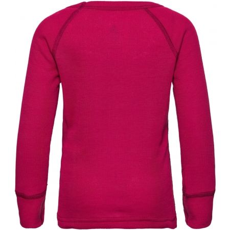 Dětské tričko - Odlo SUW KIDS TOP L/S CREW NECK ACTIVE WARM TREND SMALL - 2