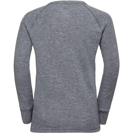 Dětské tričko - Odlo BL TOP CREW NECK L/S ACTIVE WARM TREND K - 2
