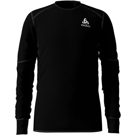 Odlo BL TOP CREW NECK L/S ACTIVE X-WARM KIDS - Tricou de copii