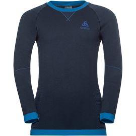 Odlo BL TOP CREW NECK L/S PERFORMANCE WARM KI - Детска тениска