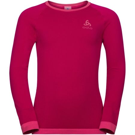 Odlo BL TOP CREW NECK L/S PERFORMANCE WARM KI - Tricou de copii