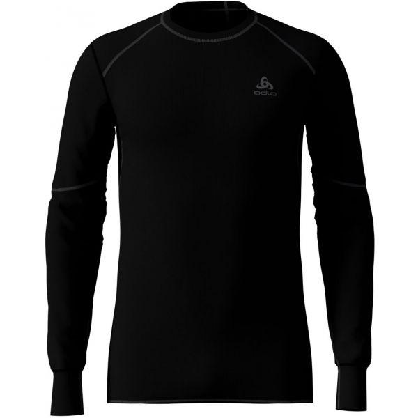 Odlo BL TOP CREW NECK L/S ACTIVE X-WARM čierna M - Pánske tričko