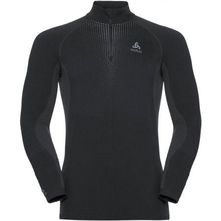 Pánské tričko 1/2 zip - Odlo BL TOP TURTLE NECK L/S HALF ZIP PERFORMA - 1