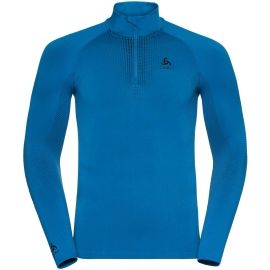 Odlo BL TOP TURTLE NECK L/S HALF ZIP PERFORMA