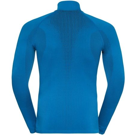 Pánske tričko s 1/2 zipsom - Odlo BL TOP TURTLE NECK L/S HALF ZIP PERFORMA - 2