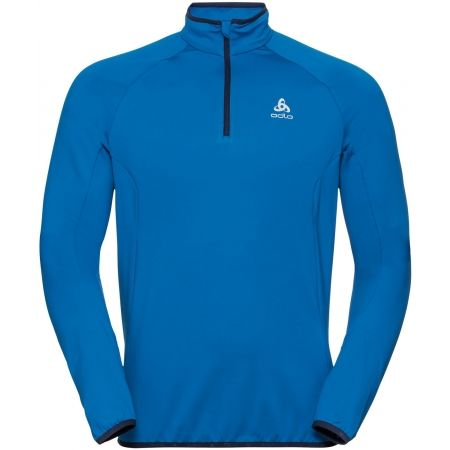 Odlo MIDLAYER 1/2 ZIP CARVE LIGHT - Pánska mikina so stojačikom