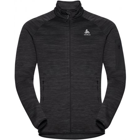 Odlo MIDLAYER FULL ZIP STEAM - Bluză bărbați