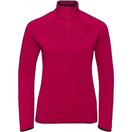 Odlo MIDLAYER 1/2 ZIP CARVE CERAMIWARM - Women's sweatshirt