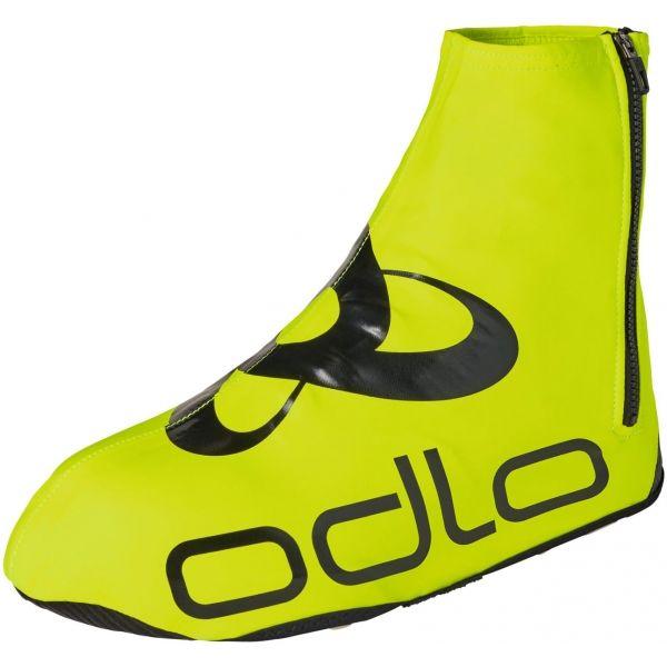 Odlo SHOECOVER ZEROWEIGHT żółty L - Ocieplacze na buty