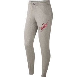 Nike NSW PANT FLC GLETTER W - Dámské tepláky