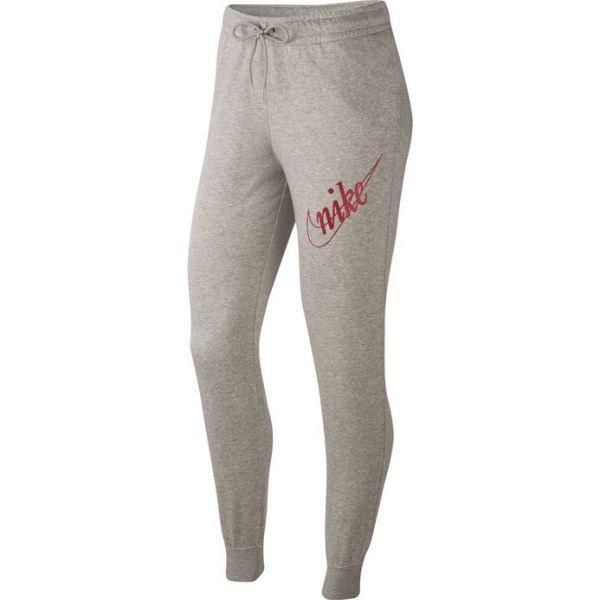 Nike NSW PANT FLC GLETTER W szary XS - Spodnie dresowe damskie