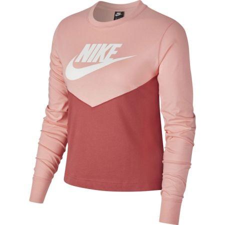 Dámské triko s dlouhým rukávem - Nike NSW HRTG TOP LS W - 1