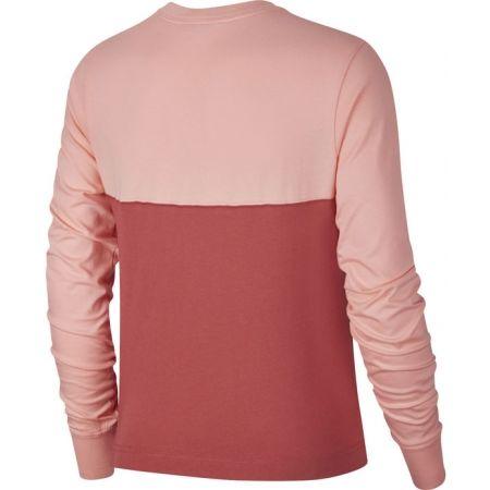 Dámské triko s dlouhým rukávem - Nike NSW HRTG TOP LS W - 2