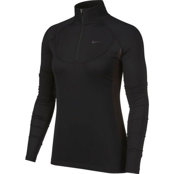 Nike NP WM NEREIDS GRX HZ černá L - Dámský top s dlouhým rukávem