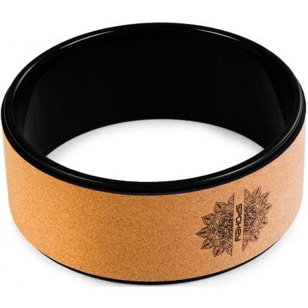 Korkový jóga kruh - Spokey CZAKRA KOREK - 2