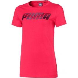Puma ALPHA LOGO TEE G - Dievčenské tričko