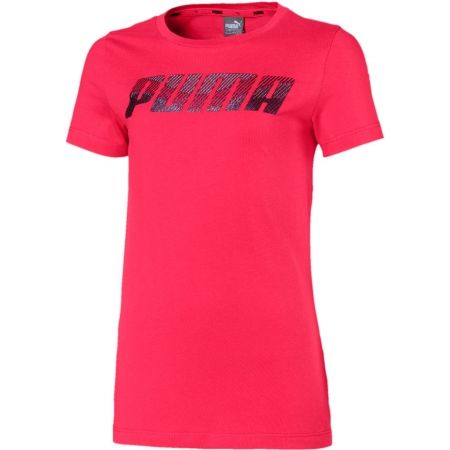 Puma ALPHA LOGO TEE G - Girls' T-shirt