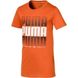 Puma ACTIVE SPORTS TEE B - Chlapčenské športové tričko