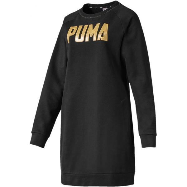 Puma ATHLETICS DRESS FL černá XS - Dámské šaty